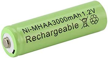 ZicHEXING-CA Green1pc a lot Ni-MH 3000mAh AA Batteries 1.2V AA Rechargeable Battery