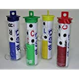 LCR® LEFT CENTER RIGHT DICE GAME - TUBE/colors may vary