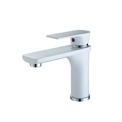 W&P Contemporary Centerset Widespread with Ceramic Valve Single Handle One Hole for Painting , Bathroom Sink Faucet 60%OFF