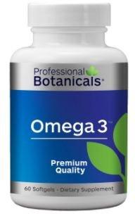 Professional Botanicals - Omega 3 Marine Lipid Epa (Eicosapentaenoic Acid) (900 mg), DHA (Docosahexaenoic Acid) (600 mg), Vitamin E (D-Alpha Tocopherol) (3mg) - 60 Soft Gels