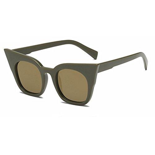 De Ojo De Tonos Gafas Vintage Sol Gafas De Moda Gafas Sol Sol Gafas Bianco Uv400 TIANLIANG04 De De De Mujer Color De Negro Amarillo Gato 7Xw5qH