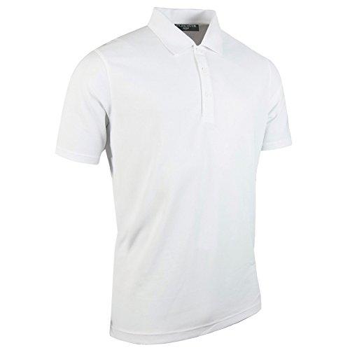 (グレンミューラー) Glenmuir メンズ 無地 パフォーマンスピケ 半袖ポロシャツ 半袖スポーツトップス ゴルフポロシャツ トレーニングシャツ ゴルフウェア 男性用