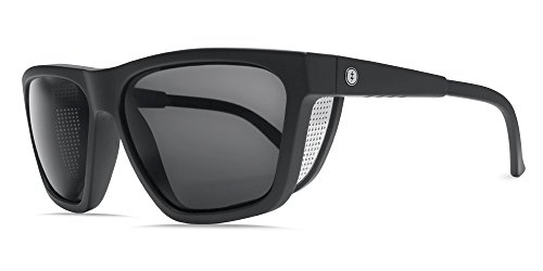 Electric Visual Road Glacier Matte Black/OHM Grey Sunglasses by Electric