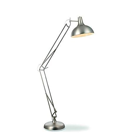 Job - Lámpara de pie articulado acero H180 cm - Lámpara de ...