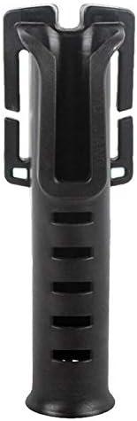 Comyglog Belt Rod Holder Portable Pole Inserter Fishing Rod Multi-Function Quick Rod Rack Fishing Accessories