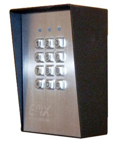 Weather Resistant Digital Keypad (EMX KPX 100 Weather Resistant & Vandal Resistant Digital Keypad)
