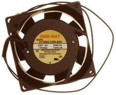 31 dBA 80 mm AC 3110MS Series Axial Fan 230 V 25 mm 24 cu.ft//min