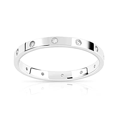 c541ab5c5e2 MATY - 0913669.T64 - Alliance or 375 blanc diamant - Taille 64 ...