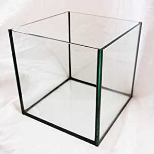 Deep Blue Professional ADB11443 Rimless Cube Aquarium Glass Tank