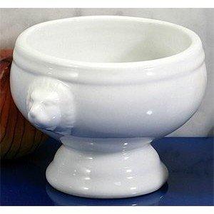 BIA Cordon Bleu Soup Bowl - Lion's Head - White