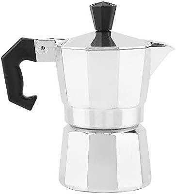 Mini Cafetera Italiana de Aluminio Tipo 30 ml, Diseño ...
