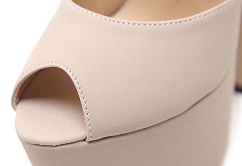 Toe de Peep Tac Sandalias de Mujer Zapatos T5RS5Wq6