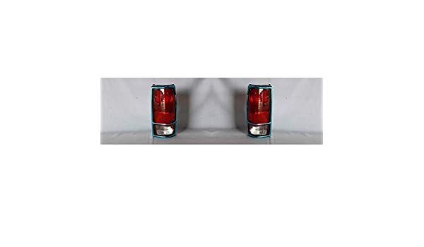 NEW PAIR OF TAIL LIGHTS WITH BEZEL FITS CHEVROLET S10 1982-1993 GM2801105 915707