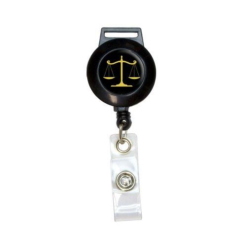 Balanced Scales Justice Lanyard Retractable