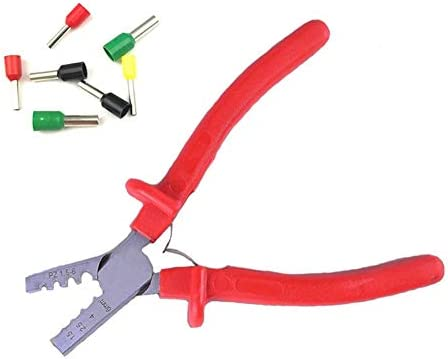 ケーブルカッター ミニ圧着ペンチ 1.5-6mm² 小さいケーブル端フェルール 圧着工具 手動ケーブルカッター
