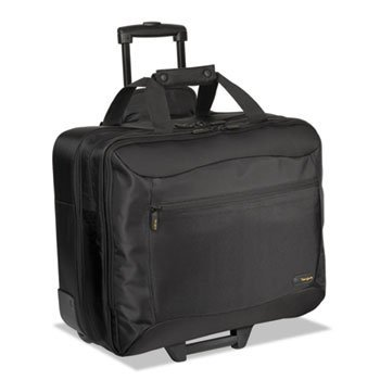 targus CityGear Rolling Travel Laptop Case, Nylon, 18 x 10 x