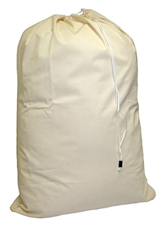 "Amazon.com: Cotton Laundry Bag - 24"" x 36"" - sturdy, breathable ..."
