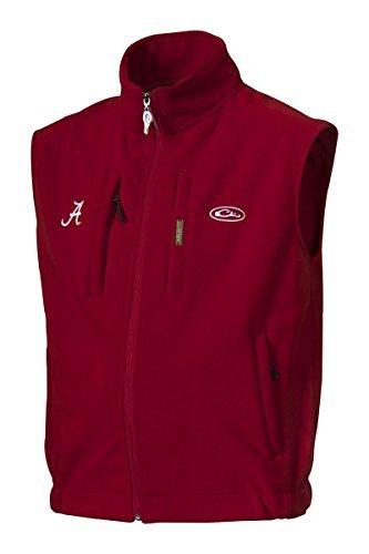 Drake Waterfowl University Of Alabama Windproof Fleece Vest-small