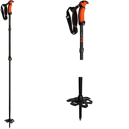 G3 VIA Long Ski Poles Long (115-145cm) Sz Long Mens by G3 Genuine Guide Gear