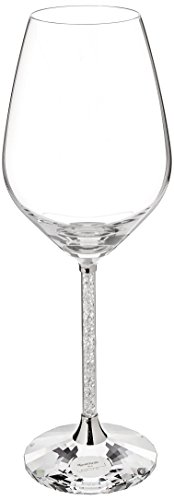 Swarovski 1095948 Crystalline Red Wine Glasses, Set of 2, Clear