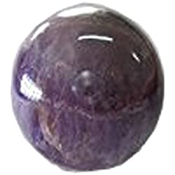 WholesaleGemShop - Amethyst Sphere Natural Polished Mineral Crystal Stone Ball - From India