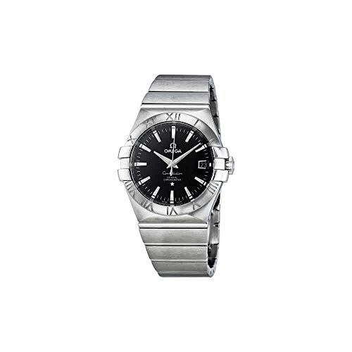 Omega Men's 123.10.35.20.01.001 Constellation Chronometer Black Dial Watch