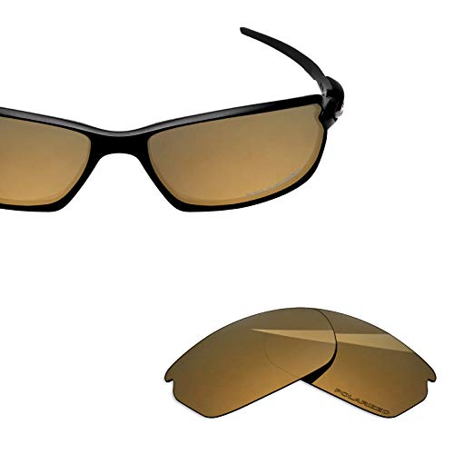 BlazerBuck Anti-salt Polarized Replacement Lenses for Oakley Carbon Shift OO9302 - Pearl Gold ()