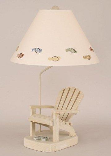 Coast Lamp Weathered Paratan/Sage Adirondack Chair with F...