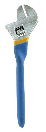 GreatNeck 21015 Essentials 8-Inch Twist Handle Adjustable Wrench