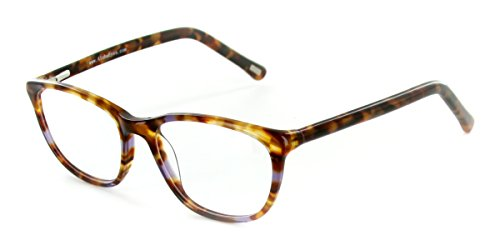 Aloha Eyewear Tek Spex 1007 Women's Photo-Chromatic Progressive Bifocal Reader Glasses / Sunglasses (Tortoise / Purple w/ Regular Tint - W Spectacles Big