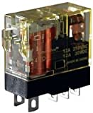 IDEC RJ2S-CL-A120 POWER RELAY, DPDT, 120VAC, 8A, PLUG IN