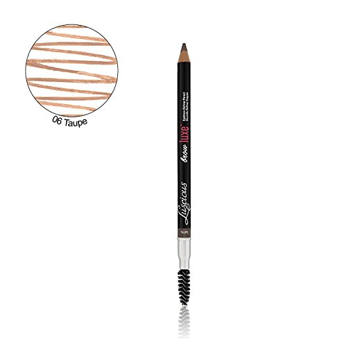 Brow Luxe Definer Pencil by Luscious Cosmetics. Sweat-Proof Eyebrow Pencil. Vegan and Cruelty Free. (Taupe) by Luscious Cosmetics