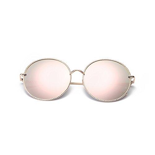 conducción polarizadas B de playa JIU de redondas Color Proteja Gafas verano Gafas sol viaje sol mujer ojos sus gafas B ocio 67HzUxwq7I