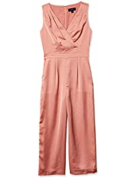 Women's Satin Gloucester Back Crepe Jumpsuit