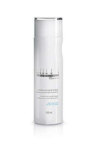 Amazon.com : Linha Chronos Natura - Emulsao Cremosa de Limpeza 150 Ml - (Natura Chronos Collection - Creamy Cleansing Emulsion 5.07 Fl Oz) : Beauty