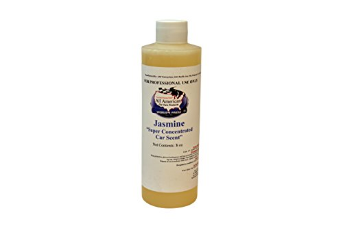 Jasmine Mix - All American Super Concentrated Car Scent Air Freshener - Jasmine - Mix to Make 1 Gallon