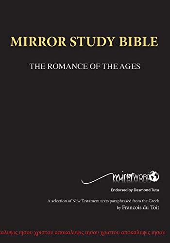 Mirror Bible Black (Eighth Edition 7 X 10 Inch Wide Margin) (Mirror Word)