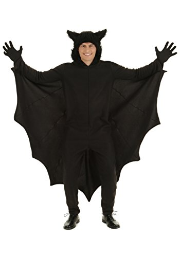 Plus Fleece Bat Costumes (Plus Fleece Bat Costume 2X)