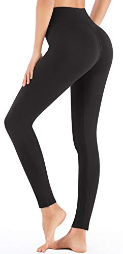 IUGA High Waisted Leggings with Inner Pocket, Non See-Through Workout Stretch Leggings for Women, Women's Leggings Pj Bottoms