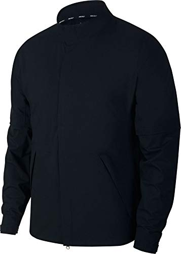 NIKE HyperShield Convertible Core Golf Jacket 2018 Black Medium (Nike Snow Jacket)
