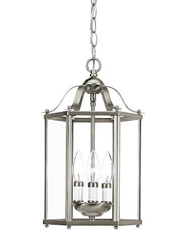 Sea Gull 5231EN-962 Bretton Semi Flush, 3-Light 10.5 Total Watts, Brushed Nickel ()