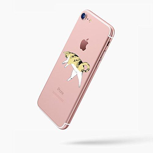 "Funda iPhone 6 Plus/6S Plus Vanki® Silicona TPU Carcasa Transparente Soft Case Cover Funda Blanda Flexible Carcasa Delgado Caja Anti Rasguños Anti Choque con para iPhone 6 Plus/6S Plus 5.5"" 2"
