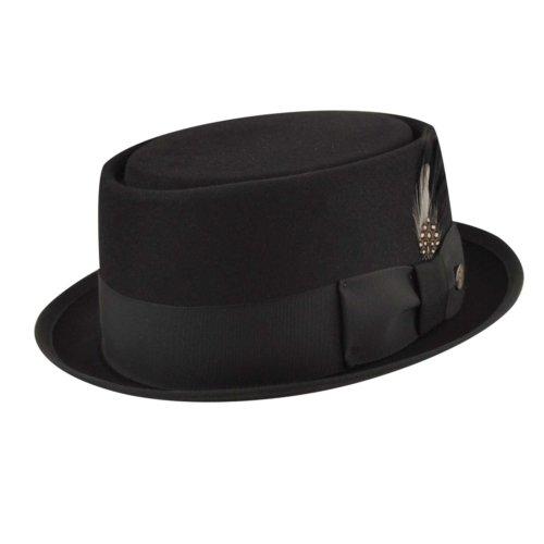 f88060d3a00ee Bailey 6104 Mens Porkpie Hat