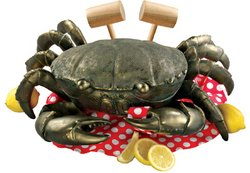 Design Toscano Colossal Crustacean Garden Crab Statue Siz...