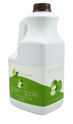 Green Apple Syrup Bubble Tea product image