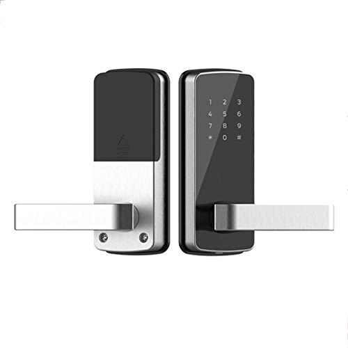 GAOPIN Combination Locks - WiFi Digital Electronic Smart Door Lock App, Smart Home Mobilephone App Intelligent Bluetooth keypad Password Door Lock, Black,3 by GAOPIN (Image #7)