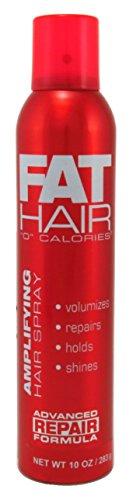 Samy Fat Hair Amplifying Hair Spray 10 Ounce (295ml) (2 Pack) by Earth Vibes
