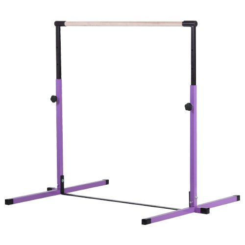 Purple Junior Adjustable Horizontal Bar by Nimble Sports