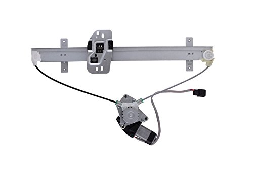 HANSUN 8836-0942 Power Window Regulator With Motor Front Right Passenger Side For Honda Ridgeline Crew Cab Pickup
