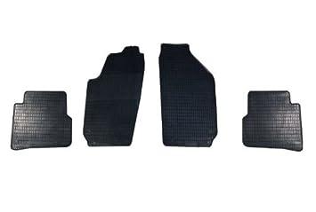 Automatten Gummi Fußmatten für Skoda Fabia II  Bj ab 2007